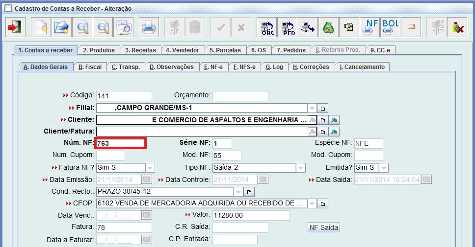 Carta De Correção Eletrônica Intersite Informática Gestor